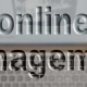 Online management Symbolbild