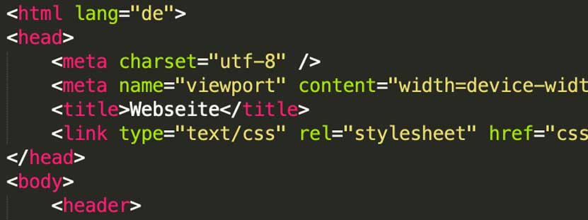 Symbolbild Webseiten erstellen
