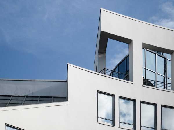 Wie Bauhaus Architektur Hamburg City